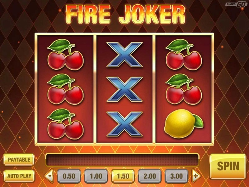 Fire Joker -paikka – Play'n Gon Slotti